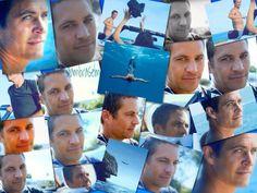 Paul...Davidoff Cool Water shoot (collage by @ambraselma)