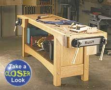 Sturdy workbench with full plan instructions to buy.