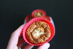 Carrot Cake Muffins. Gluten Free, No Sugar No Flour.  250 calories for 7 muffins!