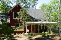 Farmhouse Front Elevation Plan #901-11 - Houseplans.com