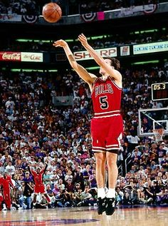This Day In Basketball History: June 20,1993 - John Paxson hits a three pointer at the buzzer and the Chicago Bulls defeat the Phoenix Suns in the deciding game of the 1993 NBA Finals; it remains the only three-point shot to win an NBA championship. It is Chicago's third consecutive NBA title.  keepinitrealsports.tumblr.com  keepinitrealsports.wordpress.com  Mobile- m.keepinitrealsports.com