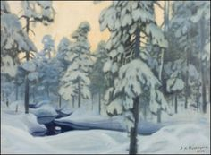 Juho Kyyhkynen - Artist, Fine Art Prices, Auction Records for Juho Kyyhkynen Beautiful Babies, Life Is Beautiful, Winter Holidays, Fall Winter, Homeland, Biography, Finland, Landscapes, Trees