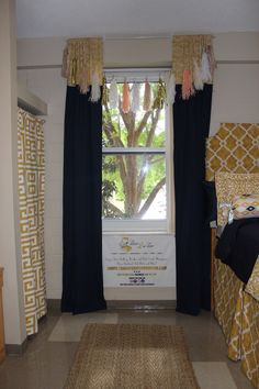 Ole Miss Dorm Makeover: Aztec | Sorority and Dorm Room Bedding
