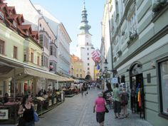 Awesome blog entry about spending a day in Bratislava.