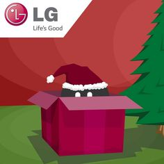 A Merry Christmas from all of us at LG Electronics Nordic and Beanbird