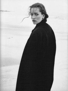 Tatjana Patitz - Mariella Burani, Saint Malo, France, 1987                                                                                                                                                                                 More