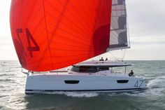 Encompassing the finest signature features of the Fountaine Pajot shipyard, the new Saona 47 boasts expansive living areas for enhanced cruising.