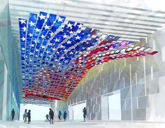 Le #pavillon des #EtatsUnis de l'#Expo2015 ressemblera à un grenier ouvert, à l'image du #pays qui se veut accueillant et souhaite relever le défi d'une augmentation de 70% de sa production d'ici à 2050 pour nourrir l'humanité conjointement avec les autres pays. Plus d'infos sur : http://www.novoceram.fr/blog/news/expo2015-pavillon-des-etats-unis