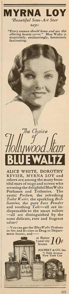 Myrna Loy for Blue Waltz