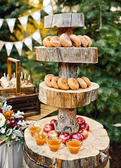 What's the best answer to a cool fall day? Warm apple cider! Guests will adore the offering of this traditional autumnal favorite. For an extra special touch, serve it alongside delicious spiced donuts. Wedding Ideas, Wedding Decorations, Fall Weddings