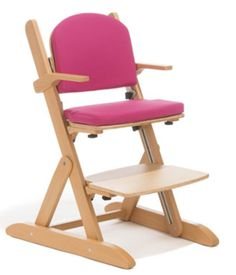 Schuchmann SMILLA Seating System - shown with pink upholstery