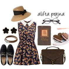 Untitled #46 by prazna-finanda on Polyvore featuring Madam Rage, Cole Haan, Pandora, Fornash and Candie's