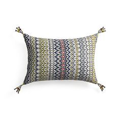 "Pondicherry 18""x12"" Pillow"