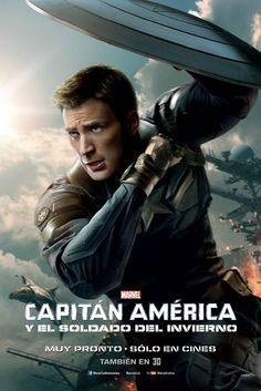 Estamos a muy poco tiempo del estreno de Capitán América Y El Soldado Del Invierno, aquí les dejamos este póster