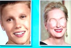 Can you guess who these two celebs are? They are both missing face features. Will you be the first one to comment and get it right? Optical Illusions Brain Teasers, Celebs, Face, Celebrities, The Face, Celebrity, Faces, Facial, Famous People