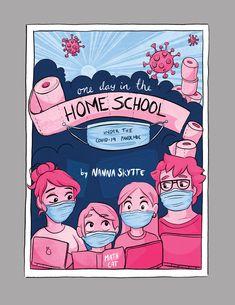 Nannas_Portfolio_GS_202141 Math Cats, Homeschool, Comic Books, Comics, Cover, Art, Art Background, Kunst, Cartoons