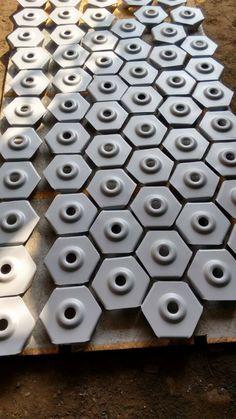 Fabricación de arandelas de anclaje.