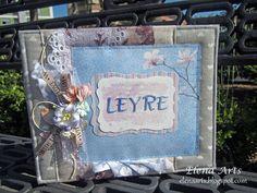 Elena Arts: Libro de firmas de comunión para Leyre.   #scrapbooking #elenaarts #librodefirmas #comunion #primeracomunion #guestbook  #scrap