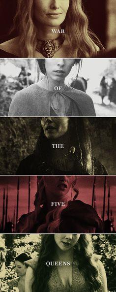 war of the five queens #got #asoiaf