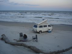 Westfalia on the Beach