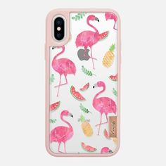 Casetify iPhone X Classic Grip Case - Summer by Mint Corner