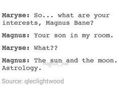 magnus bane, the mortal instruments, tmi, magnus and alec, maleç ...