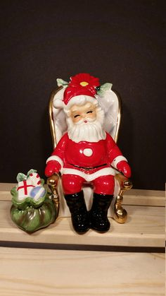 Hey, I found this really awesome Etsy listing at https://www.etsy.com/listing/550286967/vintage-josef-originals-seated-santa