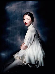 Alta Moda Haute couture Gowns Valentino Dior Gaultier Versace Vogue Italia Model: Paolo Roversi Photographer: Mariacarla Boscono Styled by: ...