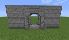 castle entrance minecraft - Google Search