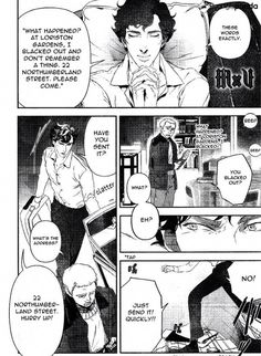 Sherlock 4, Sherlock Holmes Bbc, A Study In Pink, Raw Manga, Manga List, Next Chapter, Shit Happens, Comics, Reading
