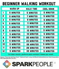Beginner Walking Workouts