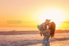 Baby Poppy | 6 Month Baby Beach Session | kansas studios | kansas pitts photography