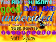 stiff dylans ultraviolet <3