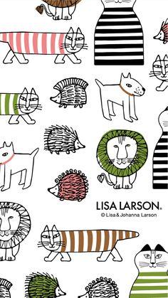 リサ・ラーソン[12] iPhone壁紙| ただひたすらiPhoneの壁紙が集まるサイト