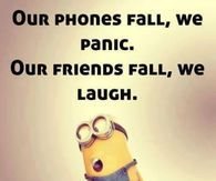 Our Friends Fall, We Laugh