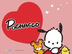 Sanrio Pochacco Wallpaper by Fannie_Pochacco, via Flickr