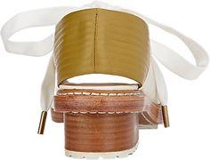 3.1 Phillip Lim Floreana Open-Toe Lace-Up Booties - Ankle Boots - Barneys.com