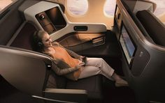 Take a look inside of Singapore Airlines NEW A350 Business Class