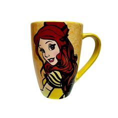 Disney Parks Princess Belle It's Hard to be a Beauty When Mornings are a Beast Coffee Fashion Mug