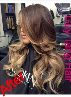 balayage ombre. :) so beautiful i love this