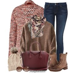 A fashion look from December 2014 featuring Missoni cardigans, Koral jeans and Frye ankle booties. Browse and shop related looks.