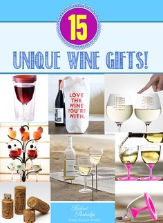 From Richard Partridge Wines:  Need a unique gift for the wine-lover in your life? We've got you covered with our list of 15 awesome products that make wine drinking even more fun!