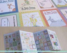 Le Petit Prince Stamp Sticker Set 4 Sheets 80 Pcs by GoodiMochi, $3.00