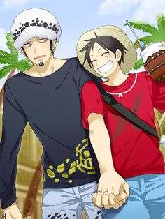 One Piece - Trafalgar Law x Monkey D. Luffy - LawLu
