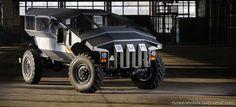 Проект бронеавтомобиля «Фалькатус»: секретность, интриги и необычный дизайн