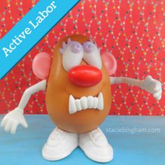 This makes me so happy - Activities for Birth Educators with a Potato Head