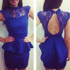 blue dress ^_^