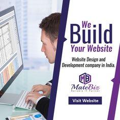 Are you looking for a web design company who can build wonderful website for you?  Enquiry Now: - https://www.matebiz.com/  #webdesigncompanyindia #webdesignagencyindia #webdevelopmentindia #wordpresswebdesign #customwebdesign #ecommercewebdesign