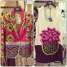 Photo by shevchenko_mary  #moschino #mymoschino #pineapple #dress #blazer
