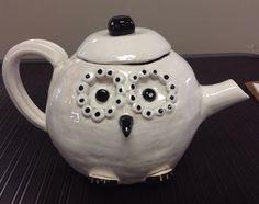 Coil constructed tea pot.
